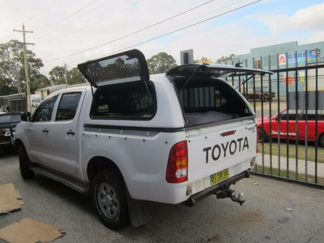 SR SR5 TOYOTA HILUX J DECK Dual Cab CANOPY 2005 - 2015 Lift up side Windows & SR Sr5 Toyota HILUX J Deck Dual CAB Canopy 2005 - 2015 Lift up ...
