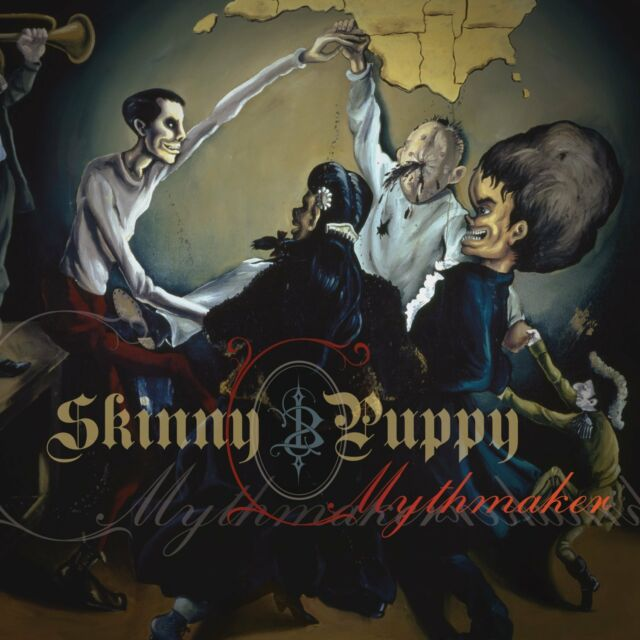 SKINNY PUPPY Mythmaker CD Digipack 2014 (Metropolis Records)