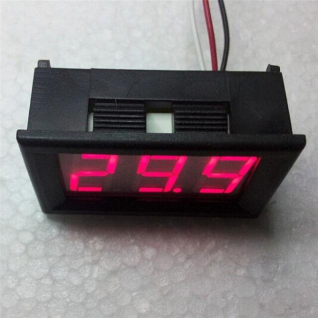 Mini voltmeter tester Digital voltage test battery DC 0-30V red auto car Hot!