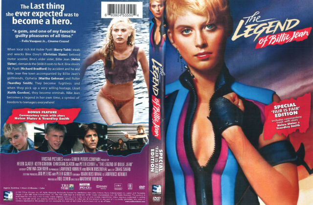 The Legend Of Billy Jean 80's cult classic DVD