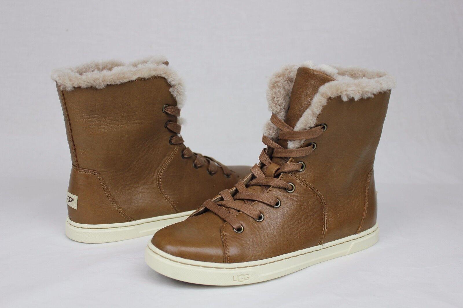 UGG Australia Womens Croft Suede Sneaker Chocolate Size 7 uLsHaBzF