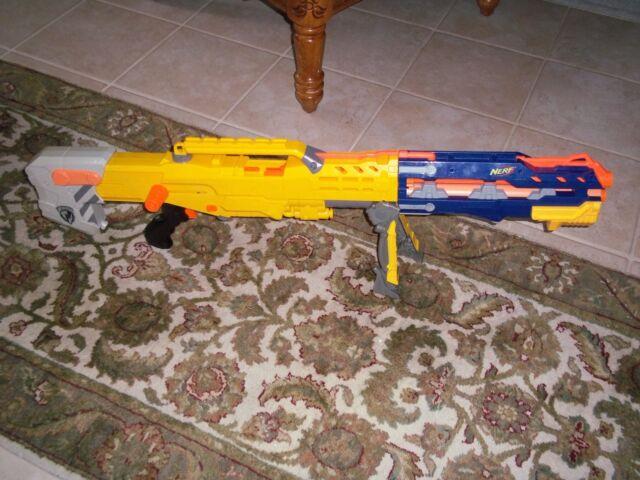 A Nerf N-Strike Longshot CS-6