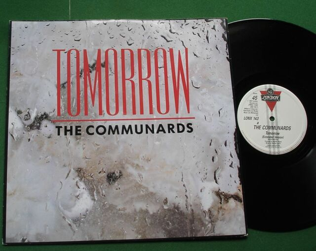 "The Communards Tomorrow Extended Mix + LONX 143 12"" Single"