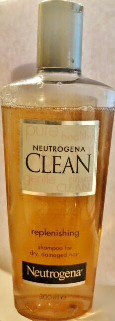 Neutrogena Clean Replenishing Shampoo 10 1 Oz 300ml
