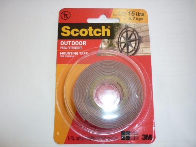 3 m 411 dc scotch heavy duty interior exterior mounting tape ebay