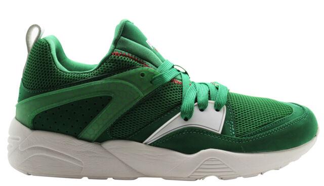 PUMA TRINOMIC BLAZE OF GLORY X Verde Scarpe sportive uomo 358490 01 U18