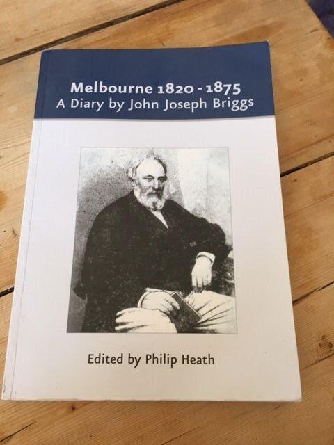UK Derbyshire - Melbourne 1820-1875: A Diary by John Joseph Briggs