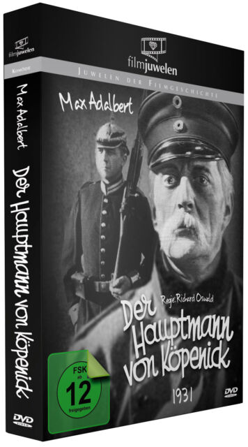 Der Hauptmann von Köpenick (1931) Richard Oswald, mit Max Adalbert - Filmjuwelen