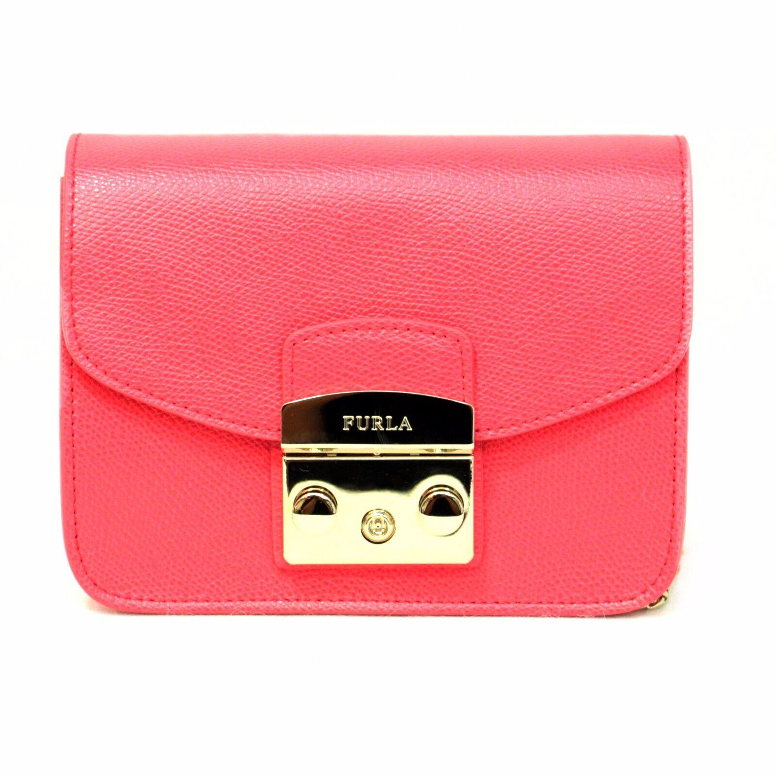 Pink leather Metropolis bag Furla DHB14ZYW