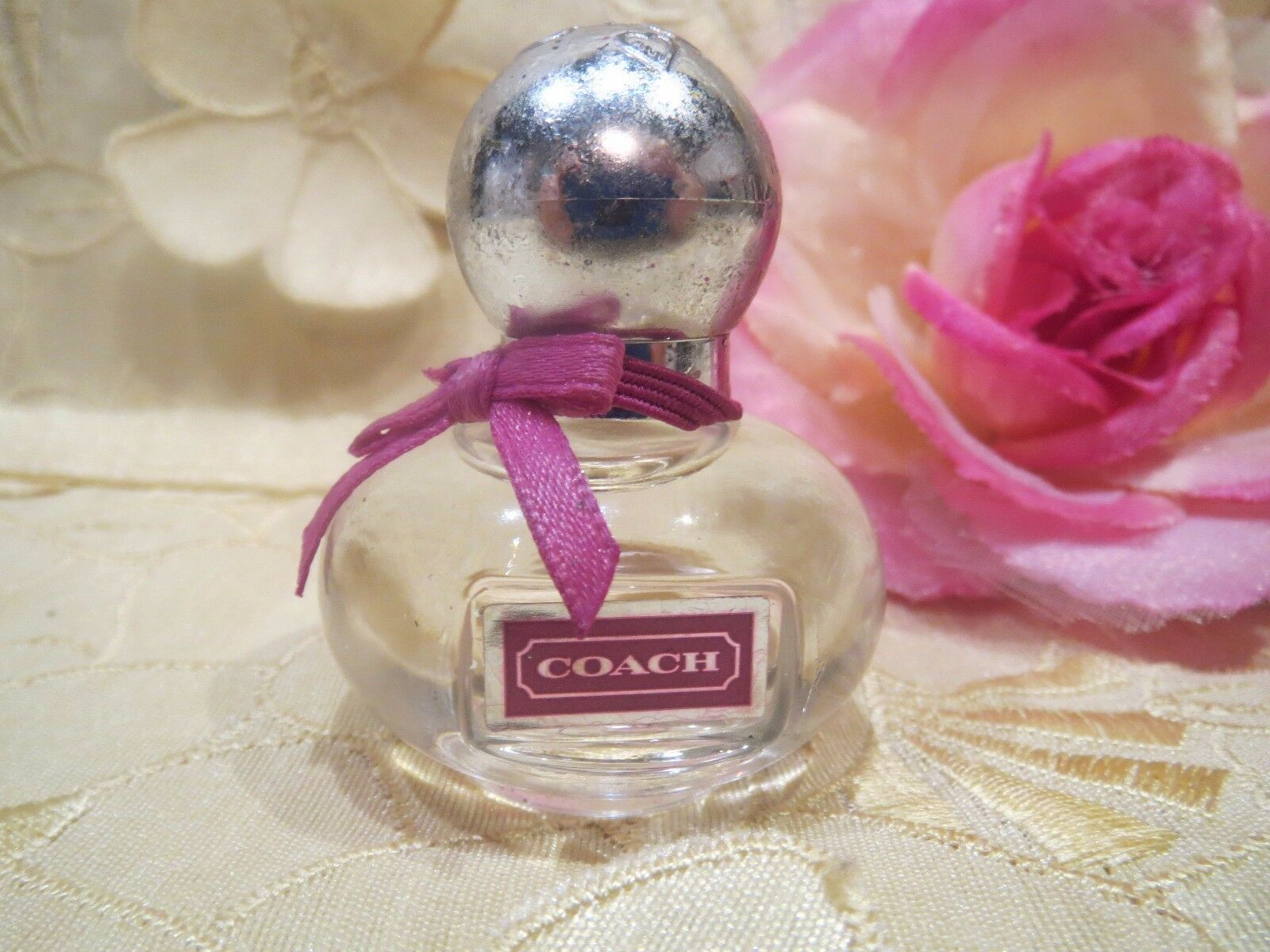 Coach Poppy Flower 017oz Womens Eau De Parfum Ebay