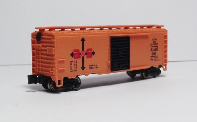N Gauge-Bachmann Freight Car Specials-Alton & Southern RR 40' Box Car #905