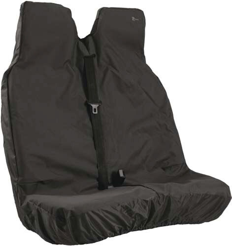 Citroen Relay Universal  Town & Country Double Van Seat Cover - Black - VBLK-291