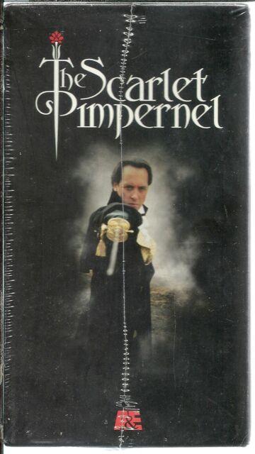 Scarlet Pimpernel -- Box Set (VHS, 1999, 3-Tape Set, Box set) NEW FACTORY SEALED