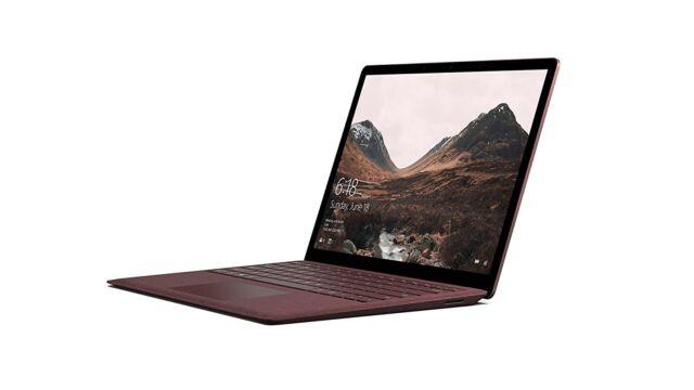 MICROSOFT Surface Laptop i5-7200U 256GB SSD 8GB RAM Bordeaux Rot NEU & OVP