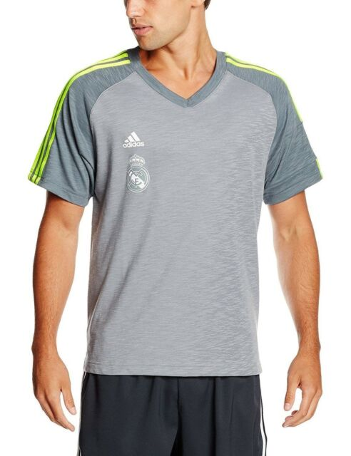 Camiseta oficial Madrid adidas de hombre del Real Real Madrid Shooter Grey Shooter Jersey TRACKED 557728a - grind.website