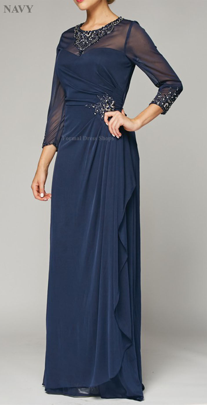 Formal Mother of The Bride Evening Gown Church Special Occasion ...