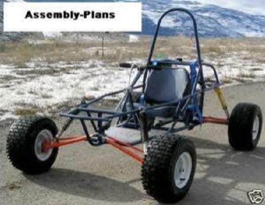 Dune buggy go kart cart assembly plans how to build for Golf cart plans