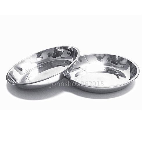 sc 1 st  eBay & 304 Stainless Steel Dinner Plate Dish 22cm 2pcs | eBay