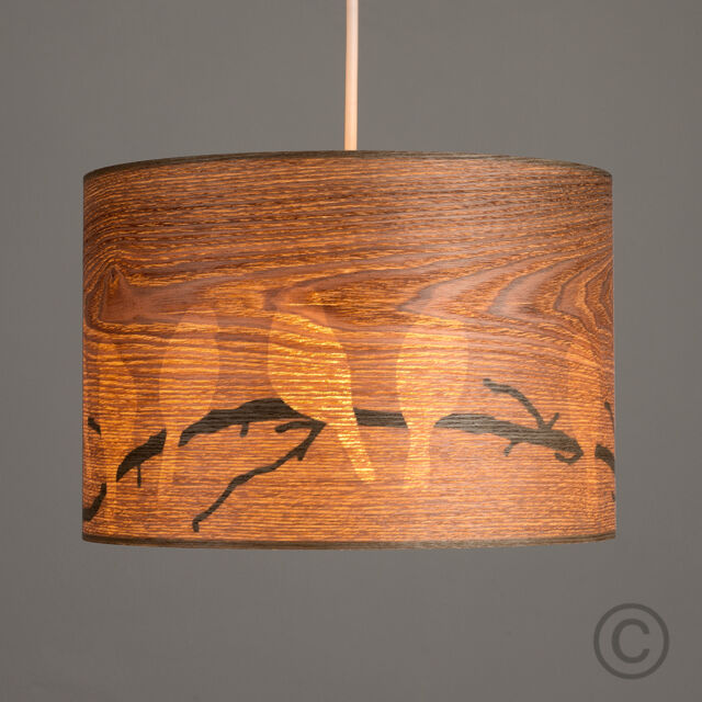 wood veneer lighting. Contemporary Bird Pattern Wood Veneer Cylinder Ceiling Pendant Light Shade Home Lighting E