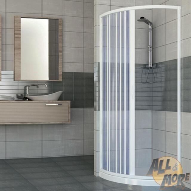 Shower Enclosure Semicircular Plastic PVC 750x750 Mm SCORPIONE With ...