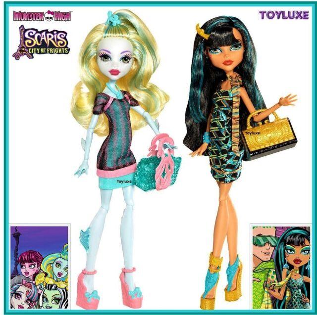 Monster High Ebay >> 3 Mattel Monster High Scaris Dolls Lagoona Cleo Catrine Demew 6