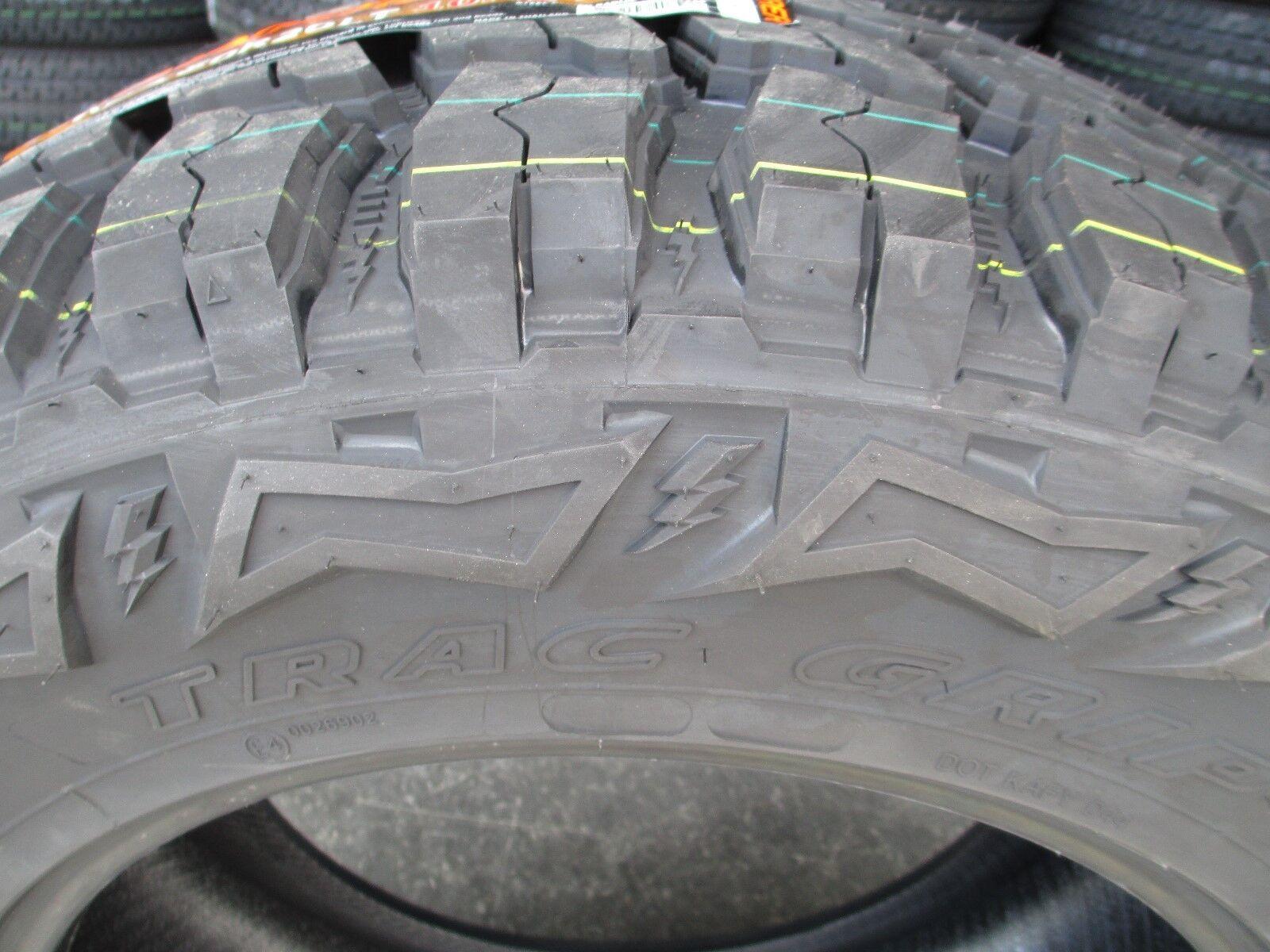 4 Thunderer Trac Grip M t R408 Lt35x12 50r22 Tires 12 50r 22