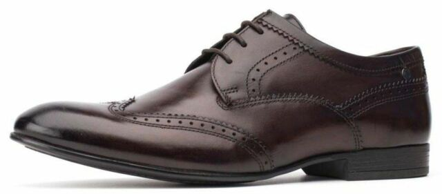 Purcell Leather Brogue Shoes - Brown Base London tQm4tC