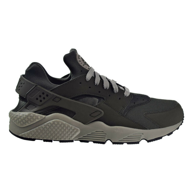 Men's Nike Air Huarache Run Running Shoes Sequoia/Dark Stucco/Black 318429 311