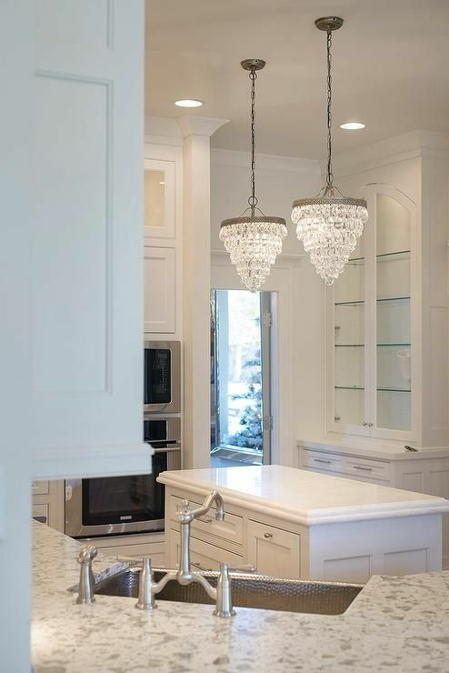 ${res.content.global.inflow.inflowcomponent.cancel} - Pottery Barn 2680098 Clarissa Glass Drop Chandelier Antique Silver