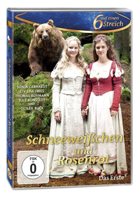 DVD *  SCHNEEWEIßCHEN UND ROSENROT - 6 Sechs auf einen Streich  # NEU OVP %