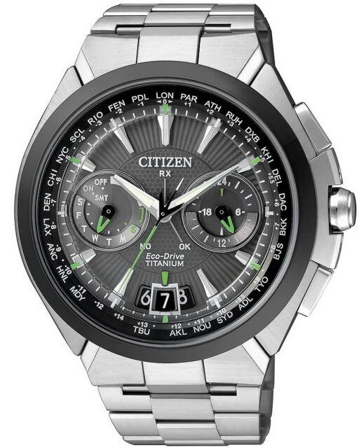 Citizen Satellite Wave H950 Titanium watch. Advanced Satellite Time. CC1084-55E