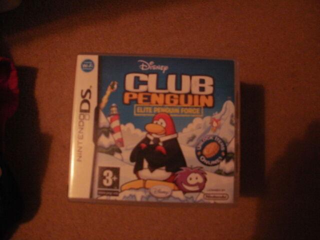 Disney Club Penguin Elite Penguin Force Nintendo DS game