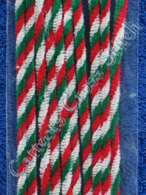 Pipe Cleaners Christmas Twist Red White Green Chenille Sticks Darice