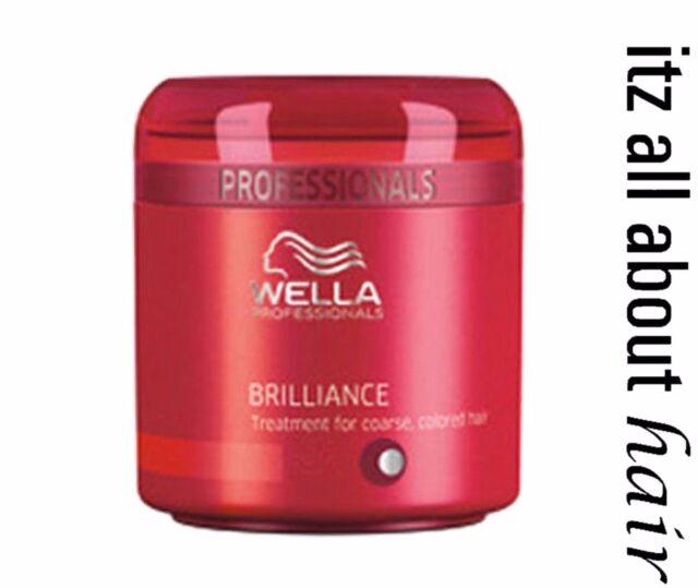 NEW Wella Professional Brilliance Treatment Mask 150ml Australian Stockist