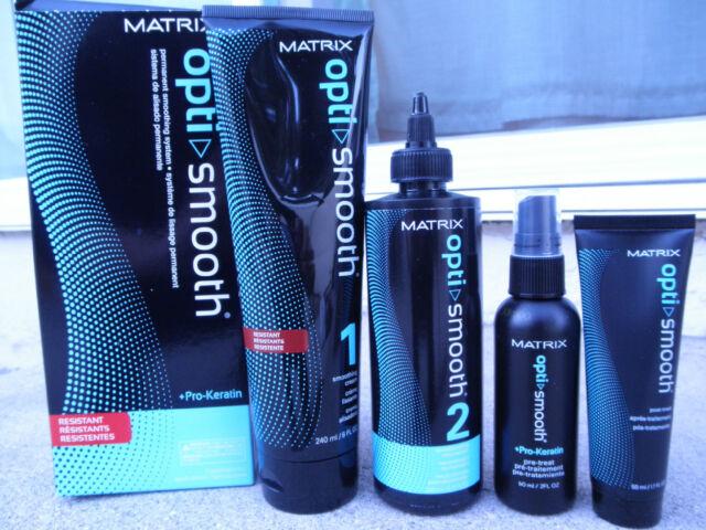 Matrix Opti Smooth Hair Straightener For Resistant Pro Keratin New