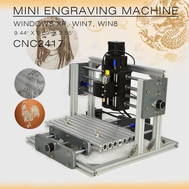 Cnc 2417 Mini Metal Engraver Pcb Milling Machine Diy Mill