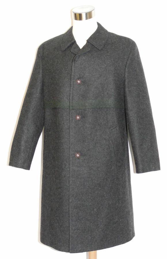 Black Wool Men German Hunting Winter Dress Suit Trench Over Coat ...