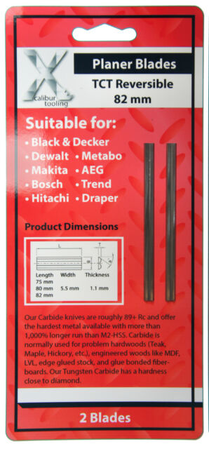 Power Devil PDW5016 ACC Planer Blades TCT for the Power Devil PDW5016 ACC Planer