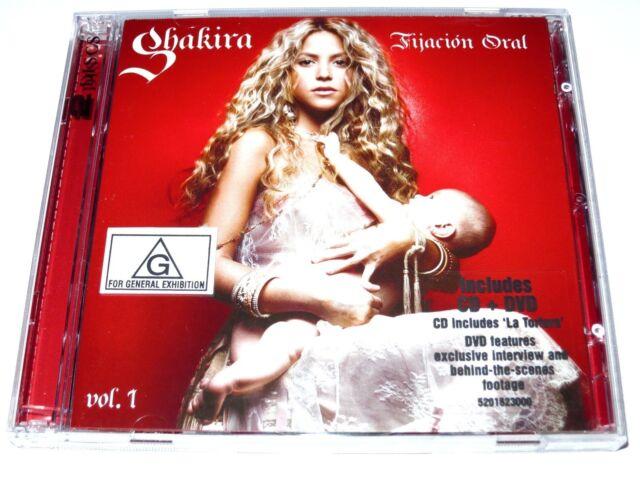 cd-album, Shakira - Fijacion Oral Vol 1, CD/DVD, Australia