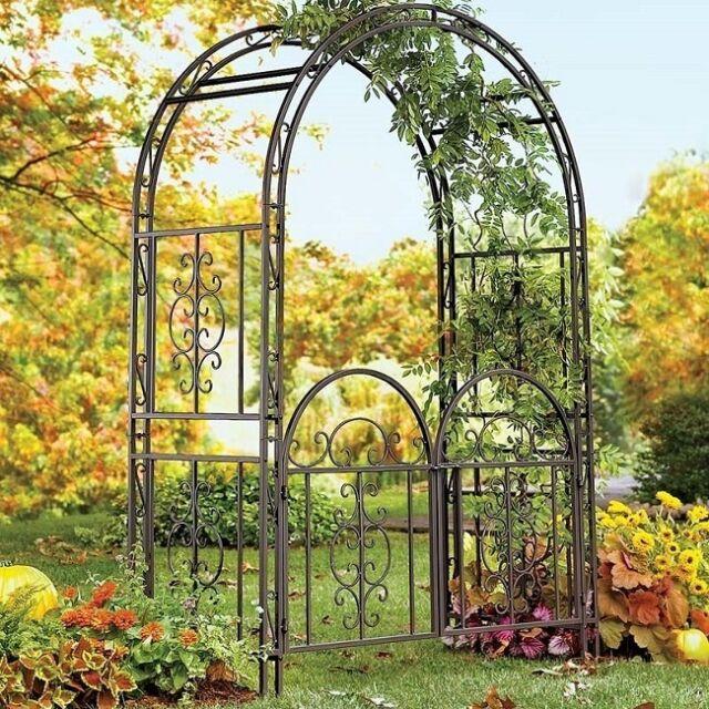 Metal Arch Gate