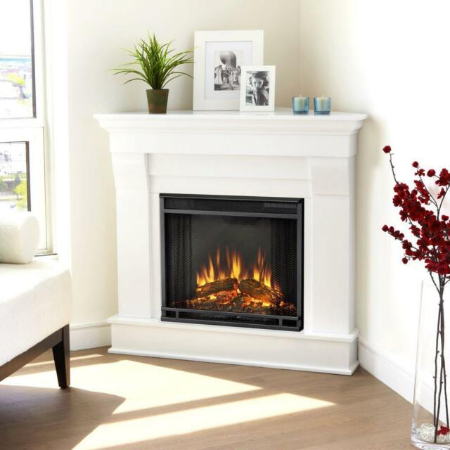 Find great deals for Real Flame Chateau Corner Electric Fireplace 5950e Finish White. Shop with confidence on eBay!