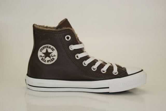 Converse All Star pelle HI TGL 35 sneakers MANDRINI Donna Scarpe Bambino