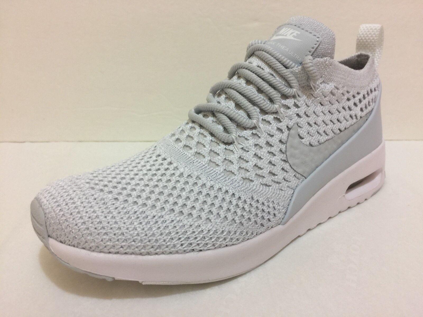 Nike Air Max Thea Ultra Flyknit Grey Womens Running Shoe 881175-002 Multi Sizes