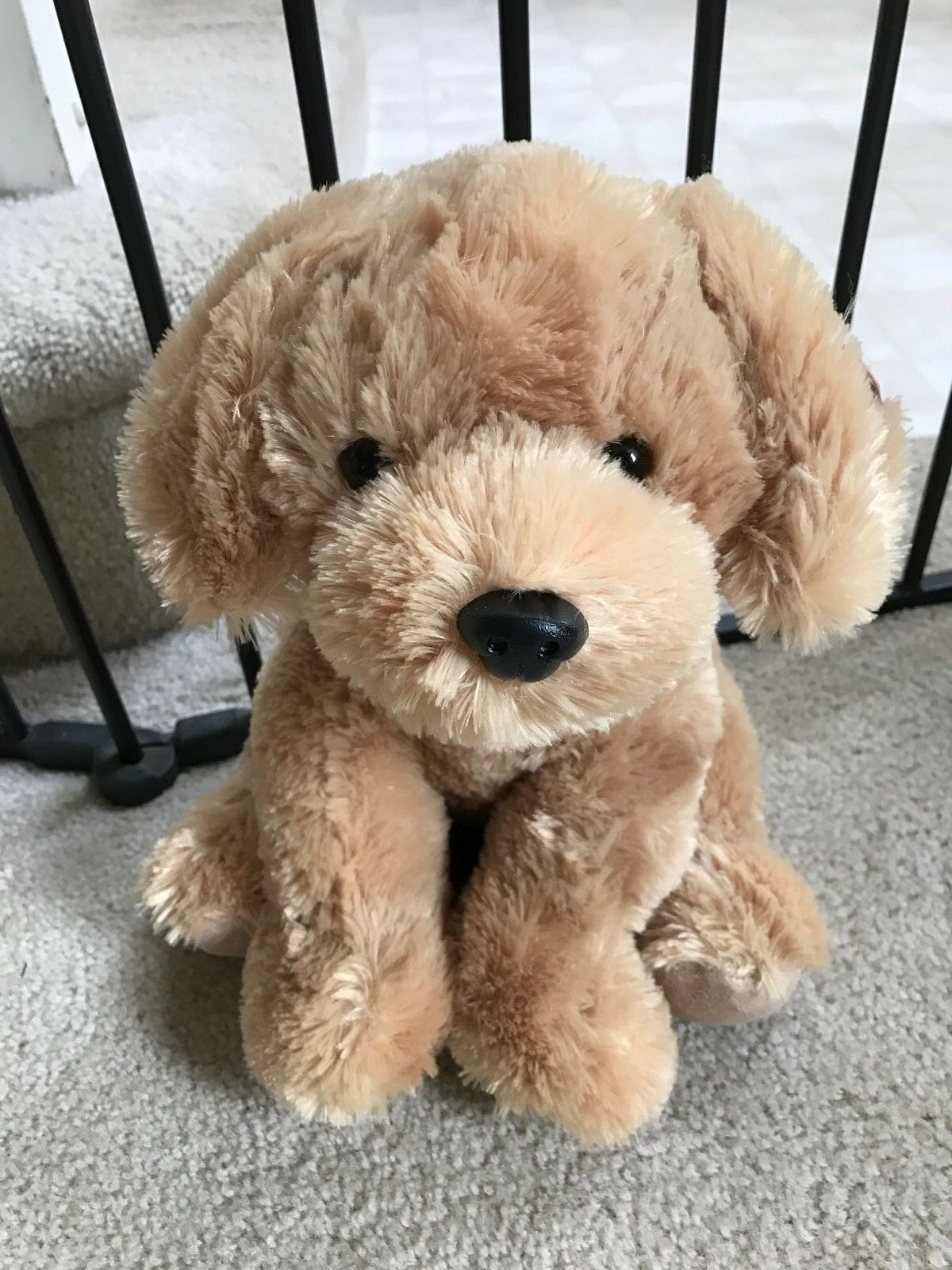 Aurora Golden Lab Puppy Promo Plush Doll Stuffed Animal