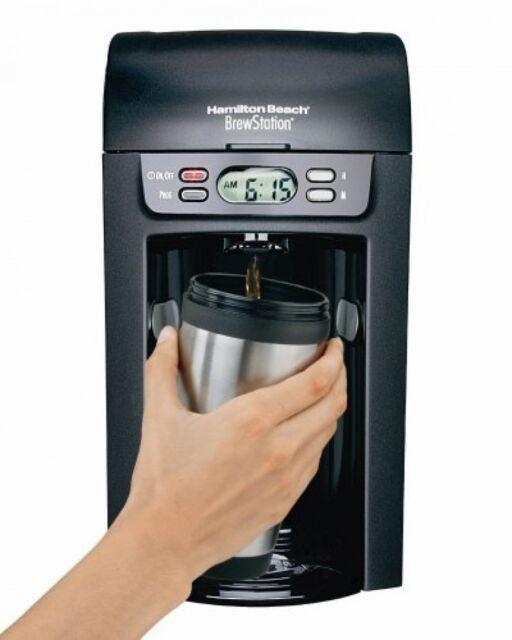 Hamilton Beach 48274 Brew Station 6-Cup Coffeemaker, Black, New, Free Shipping