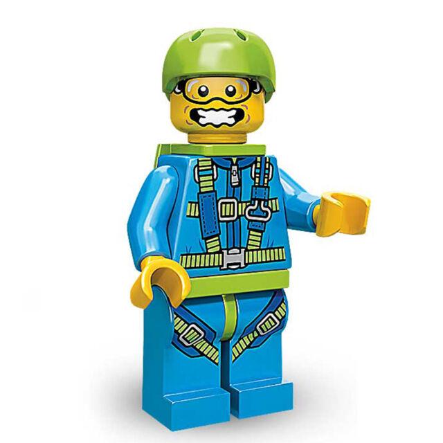 Sky Diver - Lego 71001 Minifugres Series 10 Include All Parts Paper ...