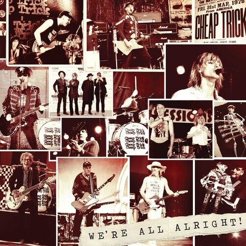 Cheap Trick - We're All Alright! [New CD]