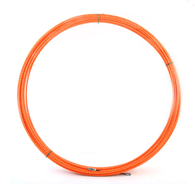 Lo515 Nylon Fish Tape Reel Wire Pullers 15m(50ft) Tool Electricians ...