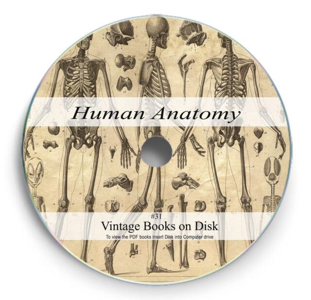 RARE Books on 2 DVD Human Anatomy Body Surgery Physiology Medical ...