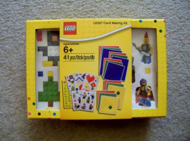 Lego rare card making kit 850506 birthday party invitations ebay lego rare card making kit 850506 new sealed birthday party stopboris Choice Image